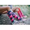 Compression socks Mono pink