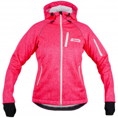 Softshell jacket ELEVEN screen pink
