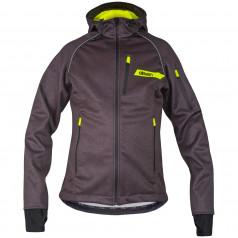 Softshell jacket ELEVEN screen black
