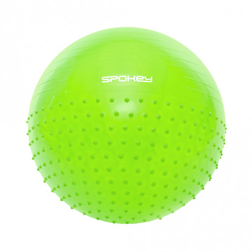SPOKEY gymnastic ball HALF FIT 65cm green 920939