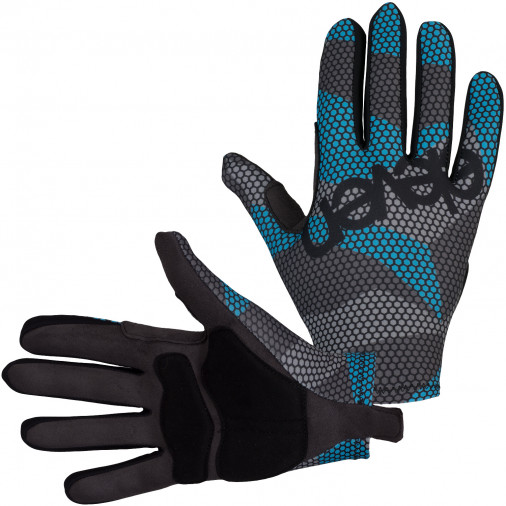 ELEVEN gloves with padding BEE azur