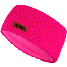 Knitted headband ELEVEN pink