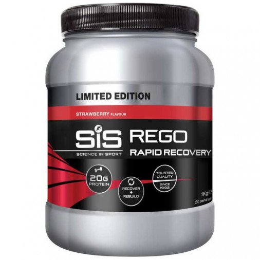 SIS REGO RAPID RECOVERY 500g STRAWBERRY