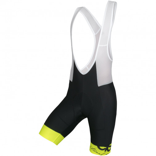 Woman cycling pants HOR F150 black/fluo