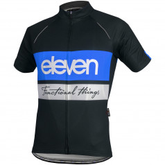 cycling jersey Horizontal F2925 black/blue