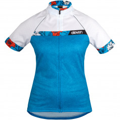 Women's cycling jersey SCORE BLOOM