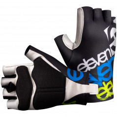 cycling gloves ELEVEN fluo/black