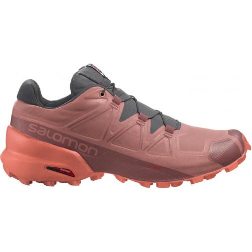 SALOMON trail running shoes SPEEDCROSS 5 W green