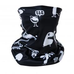 Scarf cap BUGS black