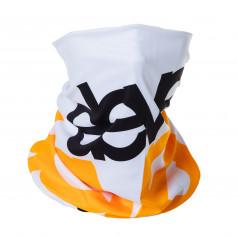 Scarve cap Eleven white/black