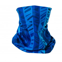 Multifunctional scarf ELEVEN PASS blue
