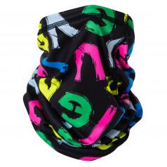 Multifunctional scarf ELEVEN LETT BK COLOR