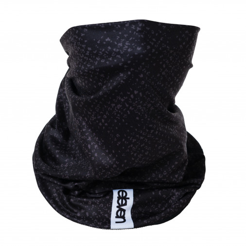 Multifunctional scarf ELEVEN SCREEN BLACK