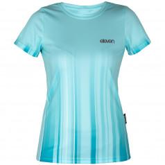 Running shirt Annika Strip Aqua