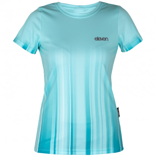 Running shirt Annika Strip Aqua