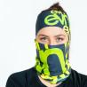 Multifunctional sports scarf ELEVEN Team EVN grey