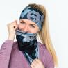 Multifunctional scarf SHAPE grey