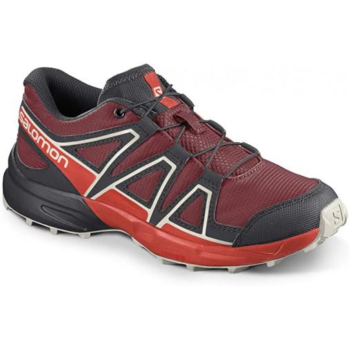 SALOMON running shoes Speedcross J dark blue