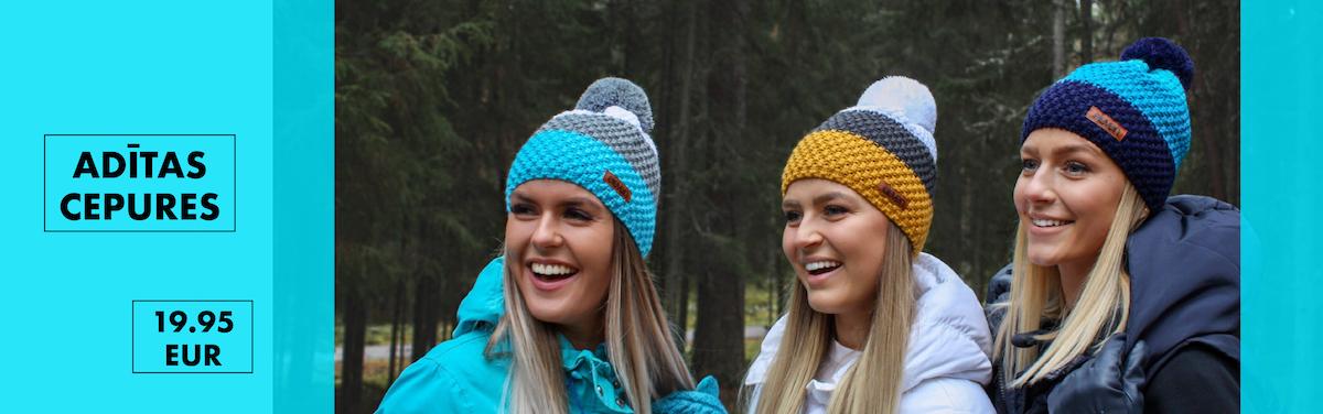 Siltas un stilīgas ziemas cepures