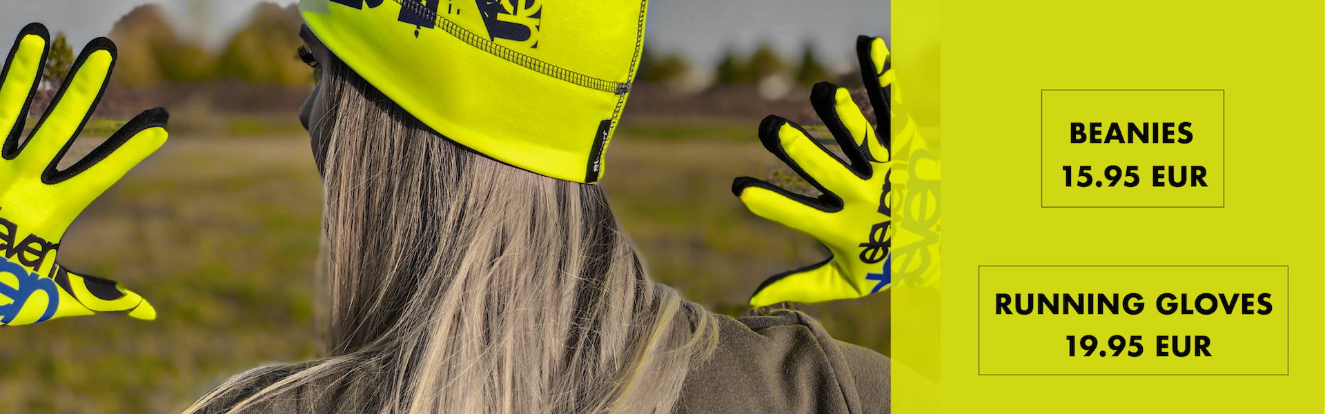 Autumn accessories: warm beanies and gloves
