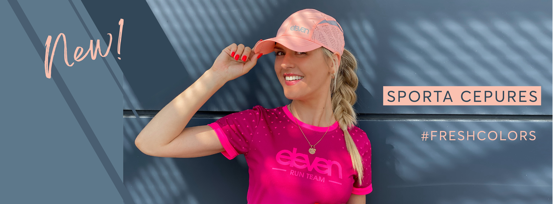 Sporta cepures - plānas uz elpojošas